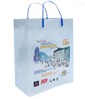March To Jerusalem Plastic Shopping Bag