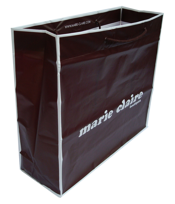 Marie Claire Plastic Shopping Bag